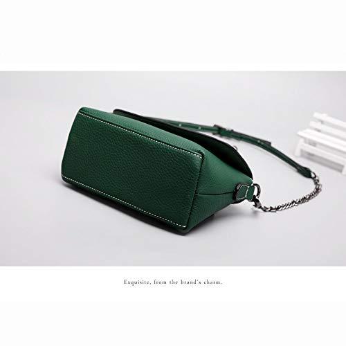 Spalla Borsa Per Le black Green nero Bag Tote Grigio Crossbody Donne Multi Tasche Xcxdx In Pelle Borse Verde Xqx5wBfY