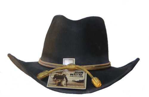 - Resistol Men's John Wayne Hondo Cavalry Hat Black Small