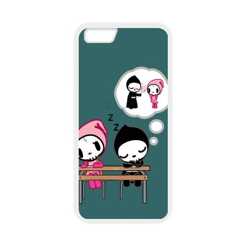 "Fayruz - iPhone 6 Rubber Cases, Tokidoki Hard Phone Cover for iPhone 6 4.7"" F-i5G85"