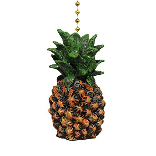 (Hospitality Fresh Pineapple Ceiling Fan Pull)