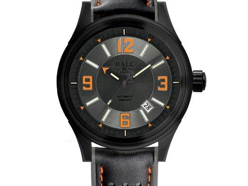 Reloj Ball Fireman Racer DLC, Acero inoxidable con recubrimiento DLC: Amazon.es: Relojes