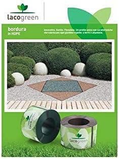 Lacogreen Kit Bordura Verde 10 m 1, 5 Decoración Jardín Duttil Flexible: Amazon.es: Jardín