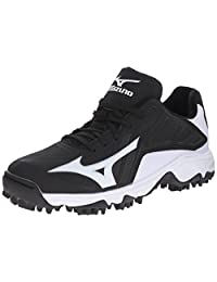 Mizuno9 SPIKE ADVANCED ERUPT 3 BK-WH-M - 9 Spike Advanced Erupt 3 blanco y negro Hombres