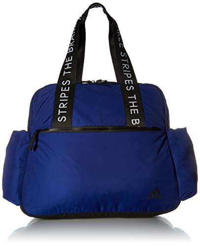 adidas Sport to Street Tote Bag, Mystery Ink Blue/Black/White, One Size