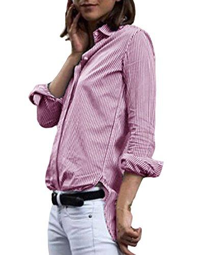 ティッシュ簡単にメロドラマティックAuxo SHIRT レディース US サイズ: US 10/ASIAN L カラー: ピンク