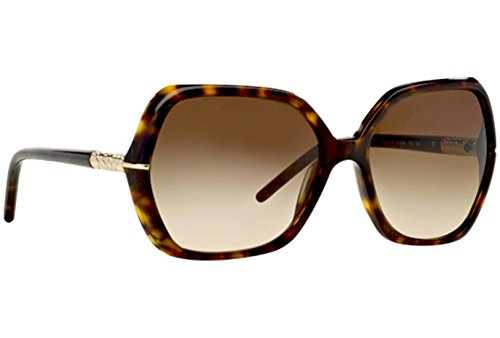 Burberry BE 4107 300213 Tortoise Brown Sunglasses + ShadesDaddy - Burberry Sunglasses Oversized