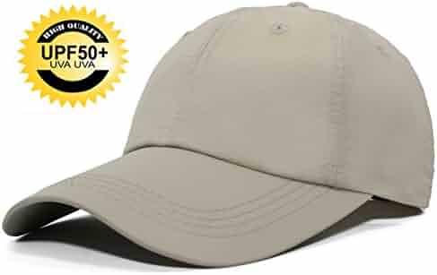 d94a516af7a84 ELLEWIN Unisex Classic Plain Baseball Cap UPF 50 Unstructured 6 Panel Dad  Hats