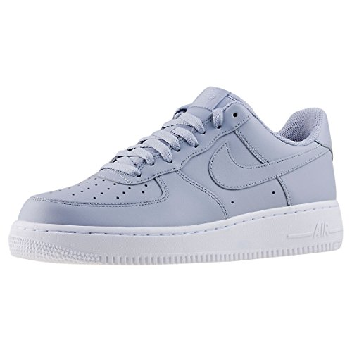 Nike Air Force 1 07 Cuir Loup Gris / Loup Gris-blanc Aa4083-010