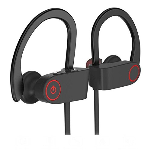 Oranka Bluetooth Headphones,Best Wireless Sports Earphones With Mic HD Stereo Sweatproof In Ear Earbuds For Running Workout Gym CVC 6.0 Noise Cancelling IPX7 Waterproof 8 Hours Battery Headsets.