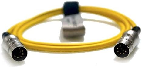 Pro Synth Keyboard MIDI Lead 5pin DIN to 5pin DIN Rean NYS322G VanDamme Cable