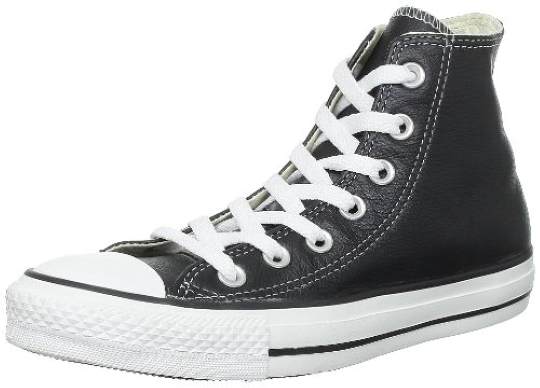 Converse  Ct Core Lea Hi Unisex-Adult Trainers  Black BLACK Size: UK 03