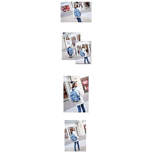 Outlet Vintage Travel Wonmen s mochilas escolares lienzo bolsas de hombro  negro 2e6a787b6e8