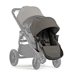 The City Select LUX second seat kit converts your single stroller into a double stroller. The full-sized seat holds up to 45 lb when not in use, the second seat folds 60% smaller than City Select second seat kit. It features an extended UV50 ...