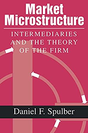 Amazon.com: Market Microstructure: Intermediaries and the
