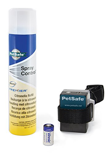 PetSafe Anti-Bark Spray Collar- Zitronella