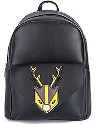 GZ-LY-GJT Backpack Toddler Shoulder Bag for Women Girls PU Leather Purse Schoolbag Daypack 4 Color