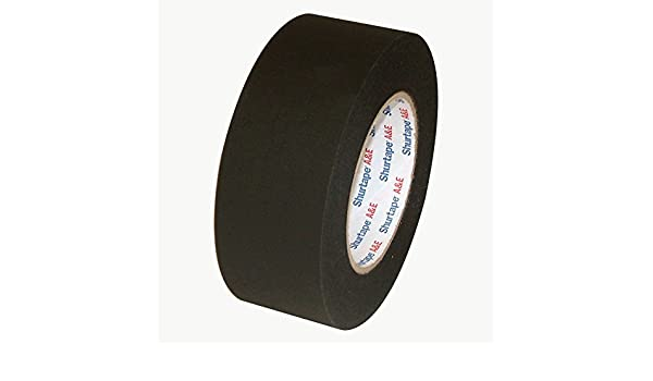 Permacel Shurtape P-743 AE Matte Black Pro Gaffer Tape 1 in x 60 yds.