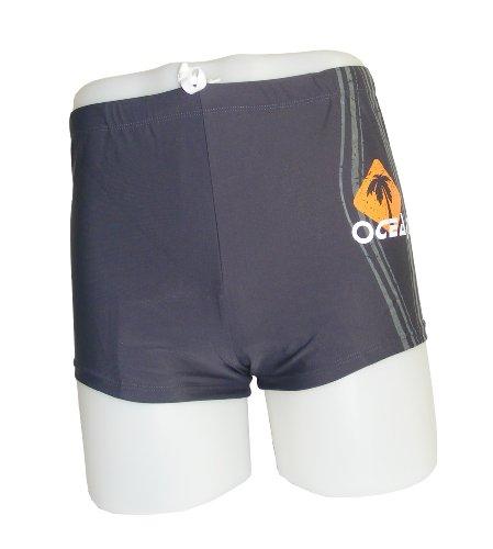 Colorfulworldstore Fashion Men's boxer swim trunks-Classic swim shorts-sexy Men's boxer swinsuit (M-74cm-165cm high-55kg, - Swinsuits Mens