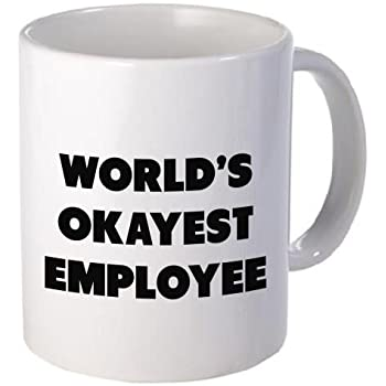 funny office mugs. plain funny funny mug  worldu0027s okayest employee 11 oz coffee mugs  inspirational and sarcasm to office