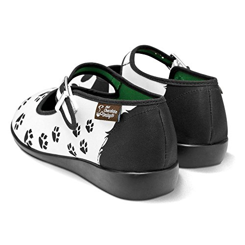 browse cheap price clearance under $60 Hot Chocolate Design Chocolaticas Panda Women's Mary Jane Flat Multicoloured MqIpIwWs