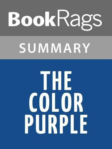 Summary & Study Guide The Color Purple by Alice Walker (The Color Purple By Alice Walker Summary)