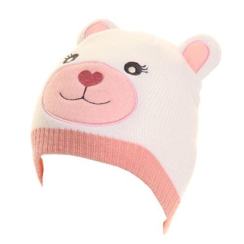 Mädchen Mütze Teddybär Design mit Ohren
