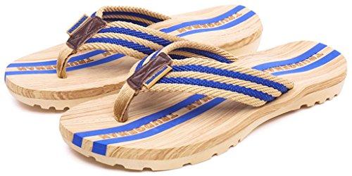 E Blu Donna Flops Uomo Da Spiaggia Per Piscina Ciabatte Flip Infradito Sandali  Pantofole Mare PBgUOq 1a3298cdb94