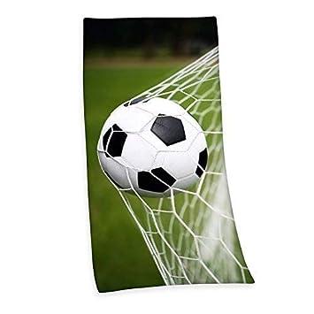 Fútbol Toalla de baño Sauna Toalla velouruch 75 x 150cm Regalo Nuevo WOW - all-in-one-outlet-24: Amazon.es: Hogar