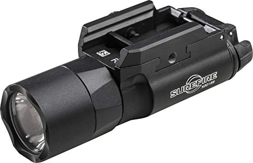 (SureFire X300 Ultra LED Handgun or Long Gun Weaponlight with T-Slot Mount, Black)