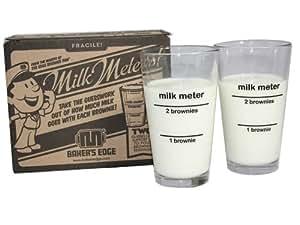 Baker's Edge Milk Meters (Milk Glasses)