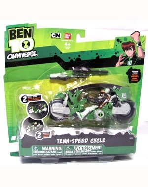 Ben 10 Tenn-speed Cycle by Ben 10