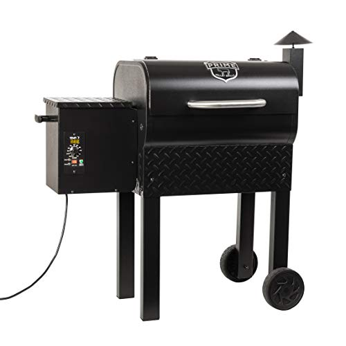 Prime Pellet Grills 62434 KC King 300 Electric Pellet Smoker, Black