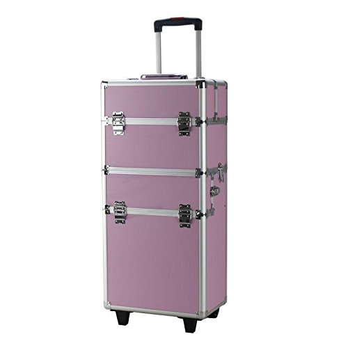 Interchangeable Aluminum Rolling Cosmetic Trolley product image