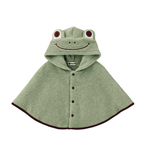 Baby Girl Clothes Cloak Fashion Kids Warm Poncho Frog Hood Cape Coat Snowsuit ()