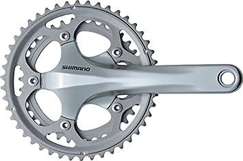 SHIMANO 105 CX50C - Biela para Bicicletas (170 mm), Color Plateado, Talla 46/36 Teeth: Amazon.es: Deportes y aire libre