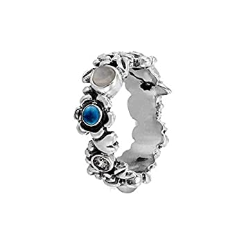 a957489d5 Pandora 190121BTP Nature's Serenity Ring, Size 7: Amazon.co.uk: Sports &  Outdoors