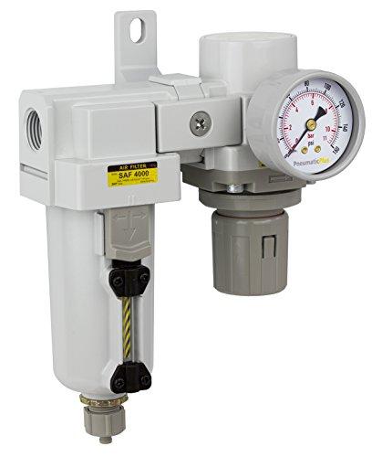 PneumaticPlus SAU4020M N04G MEP Filter Regulator Modular