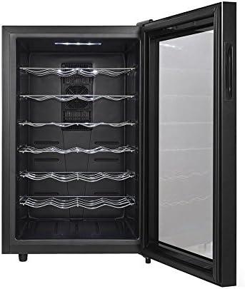 RobbyCELLAR 28MR –Vinoteca (capacidad 28botellas, puerta efecto espejo)