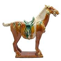 Originale fonte medio in ceramica cinese Tang cavallo 31,8cm