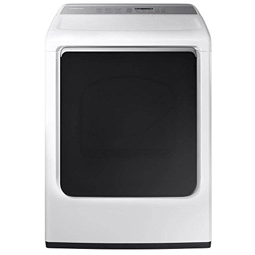 Price comparison product image Samsung DVE52M8650W 7.4 Cu. Ft. White Electric Steam Dryer DVE52M8650W / A3