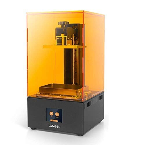 Seeed Studio Longer Orange 30 3D Printer, Upgraded Resin SLA 3D Printer with Touch Color Screen, 2K High Resolution LCD, Parallel LED Lighting, High-Temperature Warning 4.72'' x 2.68'' x 6.69''