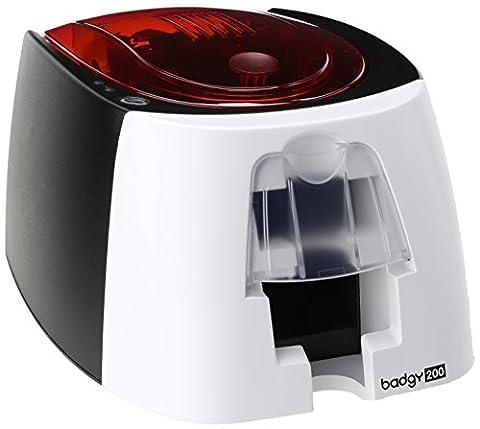 Badgy200 Color Plastic ID Card Printer (B22U0000RS) (Printer For Card)