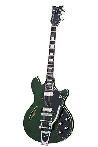 (Schecter 6 String TSH-1B, Emerald Green Pearl (291))