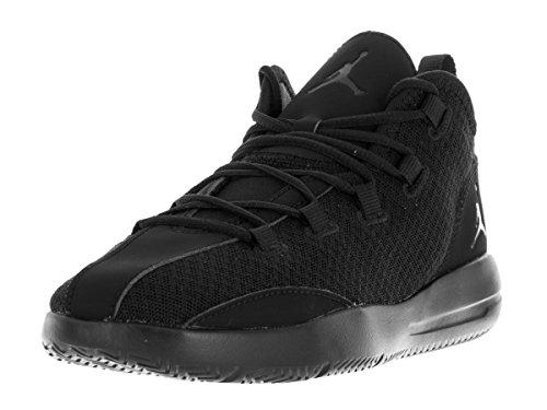 Nike Jordan Reveal Bp, Zapatillas de Baloncesto para Niños Negro (Black / Black-Black-Infrared 23)