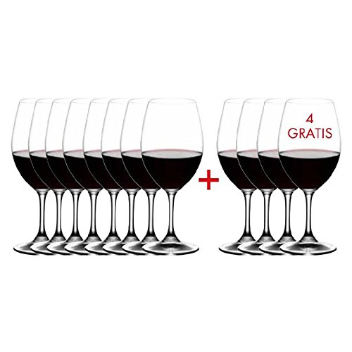 (Riedel Ouverture Fine Crystal Red Wine Glass Set, Buy 8 Get 12 )