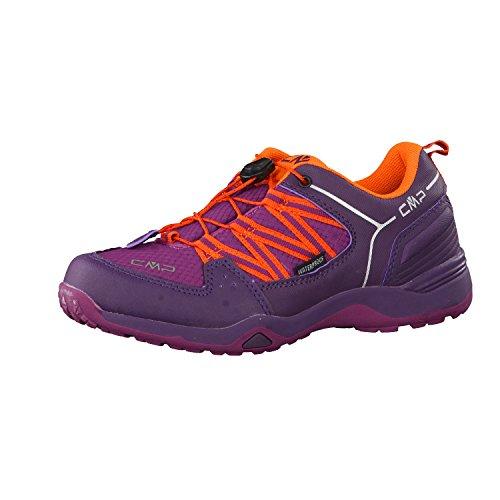 CMP Sirius 3Q47364K Zapatillas infantiles de senderismo, de caña baja morado
