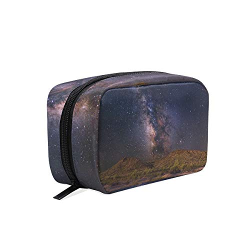 Cosmetic Makeup Bag Pouch Science Space Fantasy Artistic Futuristic Clutch ()