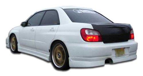 Duraflex Replacement for 2002-2003 Subaru Impreza WRX STI 4DR C-Speed Rear Lip Under Spoiler Air Dam - 1 Piece