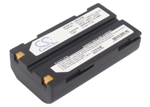 Trimble 29518, 38403, 46607, 52030, C8872A, EI-D-LI1 2600mAh Battery