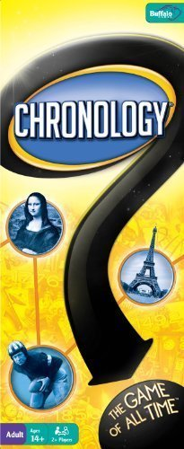 CHRONOLOGY BOARD GAME by Buffalo Games - The Game of All Tim